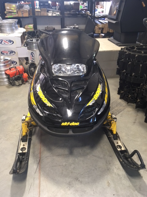 1999 Skidoo Mach z 809 LT For Sale at the Sled Parlor, we are your Local ATV Wrecker and Snowmobile Wrecker