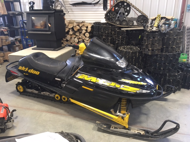 1999 Skidoo Mach z 809 LT For sale at The Sled Parlor. We sell used parts for Snowmobiles, and Used Parts for Quads